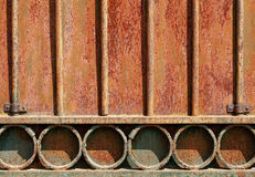 Rusty Metal Door Royalty Free Stock Photography
