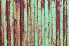 Rusty metal door Stock Photography