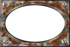 Rusty Metal Frame, Bitmap Stock Photography