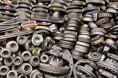 Rusty metal gears Stock Photography