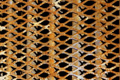 Rusty Metal Grate Stock Image