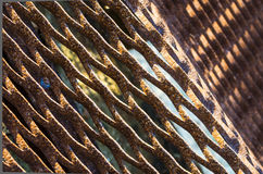 Rusty metal grate Royalty Free Stock Photo