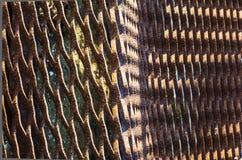 Rusty metal grate Stock Image