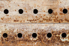Rusty metal grunge background Royalty Free Stock Images