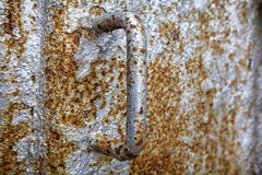 Rusty Metal Handle Stock Photos