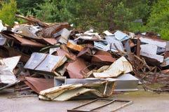 Rusty Metal Heap imagens de stock