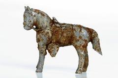 Rusty metal horse Royalty Free Stock Photos