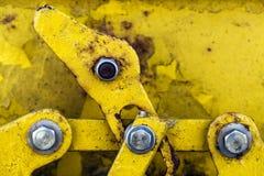 Rusty Metal Lock fotografia stock
