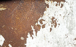 Rusty metal look like asia map. On old white wall background with texture stock images