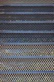 Rusty metal mesh texture Stock Photos