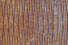 Rusty Metal mit Entlastung Stockbilder