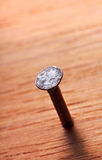 Rusty metal nail Stock Photos