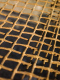 Rusty metal net Royalty Free Stock Photography