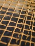 Rusty metal net Royalty Free Stock Photography