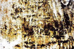 Rusty metal with old cracked paint Royalty Free Stock Photos