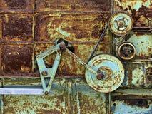 Rusty, Metal, Old Machine Stock Photo