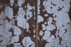 Rusty metal background. stock image