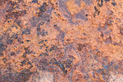 Rusty metal old surface wall. Stock Photos