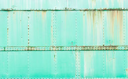 Rusty metal painted background, grunge texture,train surface. Stock Photos