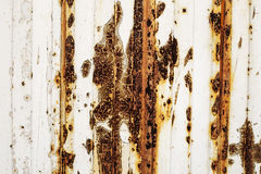 Rusty metal painted plate background, grunge texture Royalty Free Stock Images