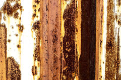 Rusty metal painted plate background Stock Images