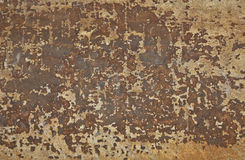 Rusty Metal Panel Royalty Free Stock Photo