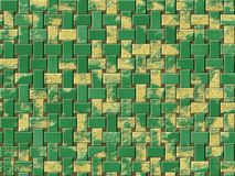 Rusty metal panels seamless generated hires texture Royalty Free Stock Image