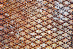 Rusty metal pattern Royalty Free Stock Photography