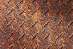 Rusty Metal Pattern Background Stock Image