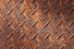 Rusty Metal Pattern Background Stock Image