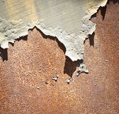 Rusty metal & Peeled Paint Stock Images