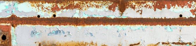 Rusty Metal Peeling Paint Background Stock Photography