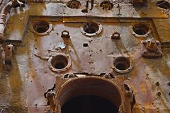 Rusty metal Stock Image