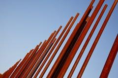 Rusty Metal Pipe Stock Image