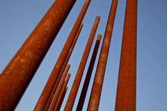 Rusty Metal Pipe Stock Images