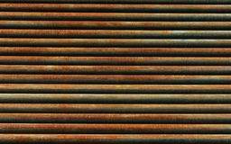 Rusty metal pipe background texture Stock Photography