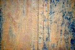 Rusty metal plank Royalty Free Stock Photos
