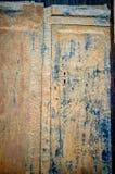 Rusty metal plank Royalty Free Stock Image