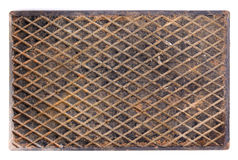 Rusty metal plate. Can use as background Royalty Free Stock Photo