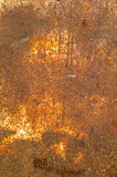 Rusty metal plate. Royalty Free Stock Photo