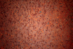 Rusty metal plate. Grunge background stock images