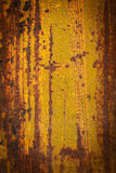 Rusty metal plate Royalty Free Stock Image