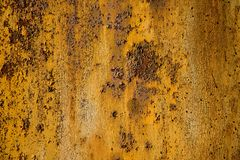 Rusty metal plate stock image