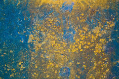 The rusty metal plate as background Royalty Free Stock Photos