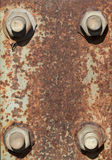 Rusty Metal Plate Background Royalty Free Stock Photo