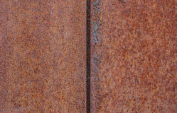 Rusty metal plate background Royalty Free Stock Photography