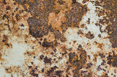 Rusty Metal plate, Grunge texture or background Royalty Free Stock Photography