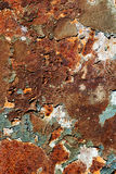 Rusty Metal Plate Royalty Free Stock Photography