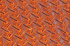 Rusty metal plate texture Stock Images