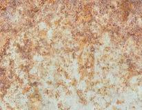 Rusty Metal-Platte, Schmutzbeschaffenheit oder Hintergrund Stockfotos
